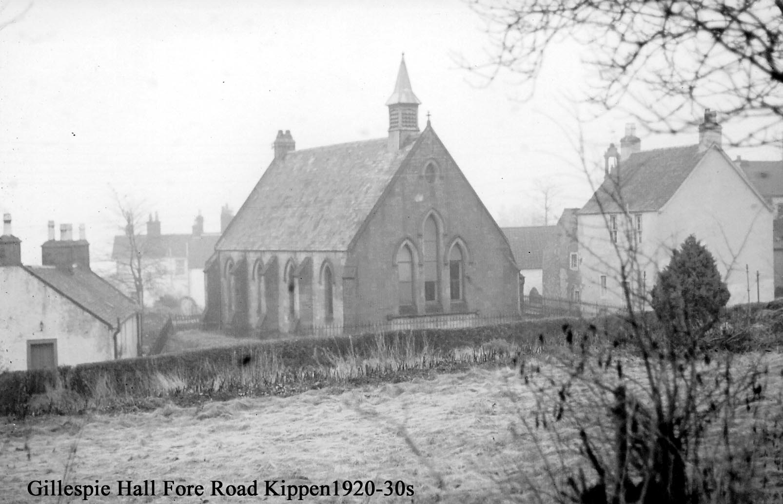 Gillespie Hall Fore Road Kippen 1920-30s